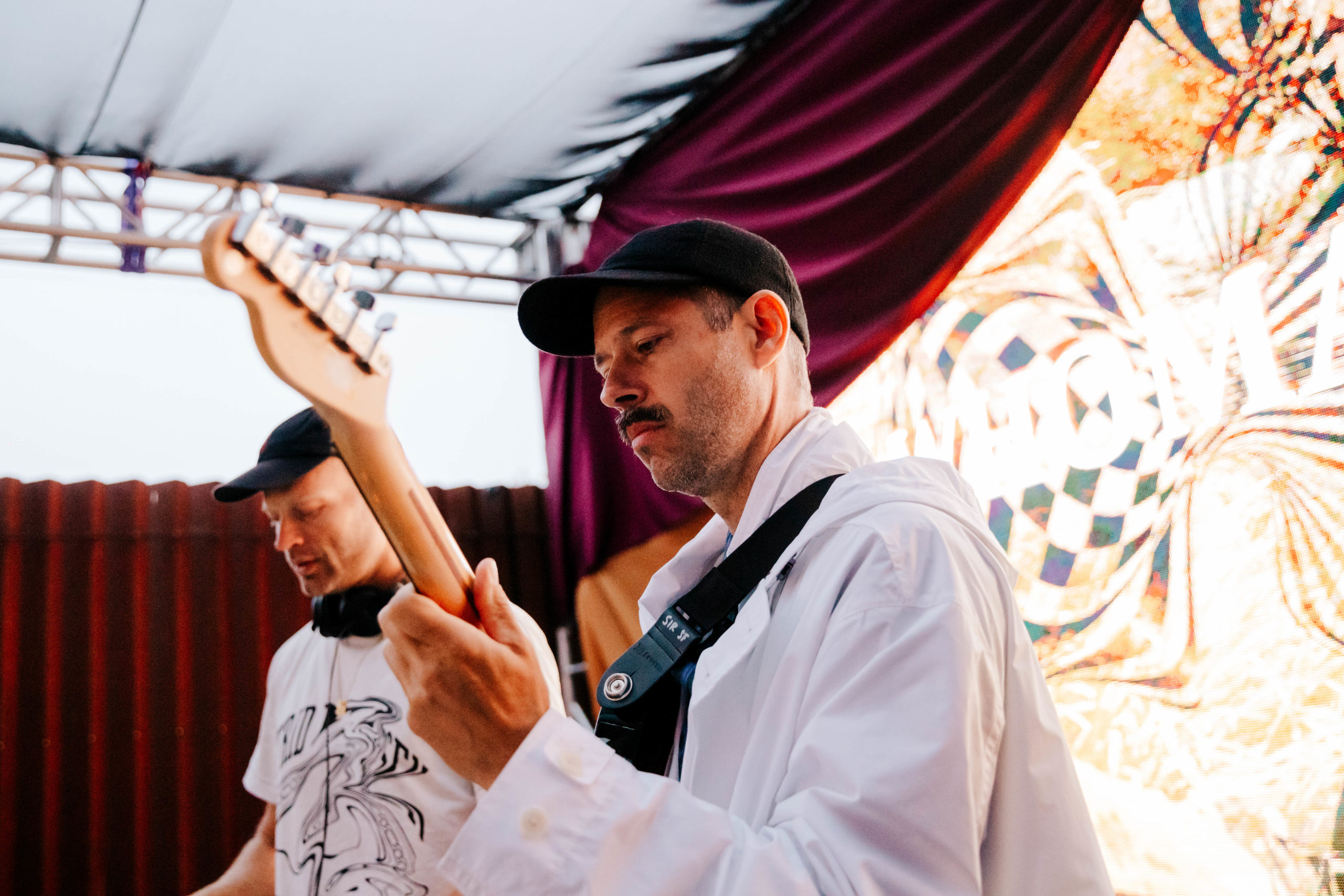 WHOMADEWHO at The Midway SF patio